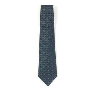 Calvin Klein Men's Silk Geometric Tie 1171